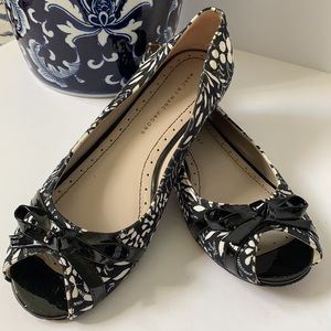 Marc Jacobs canvas and leather ballet flats 7,5US